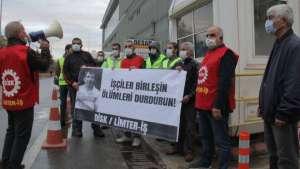 Limter-İş, DESAN Tersanesi önünden seslendi: İşçiler birleşin ölümleri durdurun