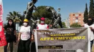 Madenciler Anıtı'nda bir araya geldiler: Mücadele yeni başlıyor