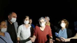 Milletvekilliği düşürülen Leyla Güven tahliye edildi