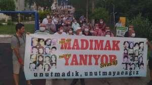 Narlıdere'de 33 can unutulmadı: Sivas'ın ışığı hiç sönmeyecek