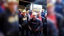 NESKO Madencilik işçileri kendilerini ocağa kapattı
