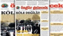 Özgür Gelecek muhabirleri, 'örgüt propogandası' iddiasıyla gözaltına alındı!