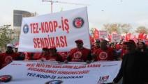 """""""Real işçilerinin haklarını alana kadar mücadeleye devam edeceğiz"""""""