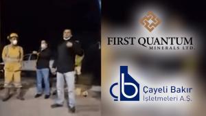 Rize Çayeli'de maden işçileri iş durdurma kararı aldı-VİDEO