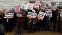 Salihli'de Hacıbektaşlı Mahalle sakinleri,Jeotermal Enerji Santrali'ne karşı harekete geçti