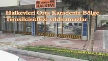 Samsun Halkevi'ne silahlı saldırı