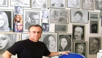 Sanata emek verenler için bir emek... Ayvalık'ta 'Sanatçılarımız' resim sergisi...