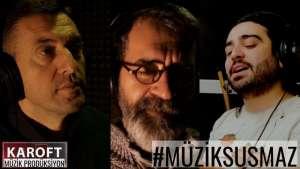 """Sanatçılar """"Müzik Susmaz"""" dedi I Yaşamını yitirenlere ithaf edildi"""