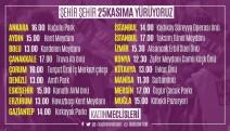 """""""Şehir şehir  25 Kasım'da yürüyoruz: Kadın cinayetlerini, ekonomik şiddeti, baskıyı durduracağız!"""""""
