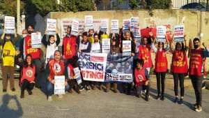 Sinbo ,Uzel Makine ve Haramiredere'de işçilere 24 Ekim miting çağrısı