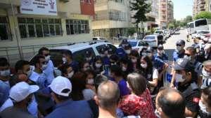 Sürgün protestosuna müdahale: 8 gözaltı