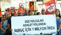 Suruç'ta hayatını kaybedenler Mersin ve Adana'da anıldı