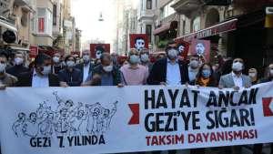 Taksim Dayanışması: Gezi özgürlük ve adalet umududur