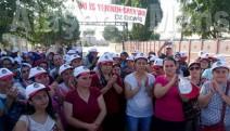 Tariş'te 200 işçi greve başladı