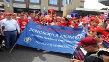 Tez-Koop İş,  Erişim Çağrı Merkezi'nde sendikalaşmanın engellenmesini protesto etti
