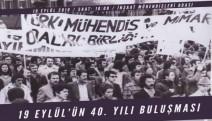 TMMOB'dan  Teoman Öztürk anıısına 4O.yıl buluşması