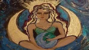 Tülay Sönmez yazdı ve çizdi: GAiA ilk ve tek tanrıça....