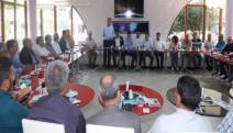 """Turgutlu'da Muhtarlarla """"Çevre Ve Hukuk"""" toplantısı"""