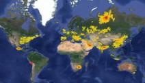 Türkiye, hava kirliliği ve erken ölümlere sebep olan kükürtdioksit (SO2) emisyonlarında ilk 10'da