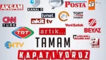 Türkiye 'teksesli' medyayı kapattı