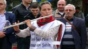"""""""Tutuklanan mimar Alev Şahin derhal serbest bırakılsın"""""""