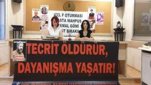Tutuklu yakınları: Hasta tutsaklar serbest bırakılsın!