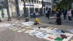 Ulm'de 'kayıplarımızı unutmayacağız' eylemi