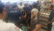 Uyum Market işçileri darp edilerek gözaltına alındı