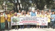 Validebağ'da Millet Bahçesi Projesi'ne 'DUR' eylemi