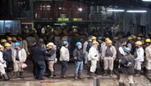 Zonguldak ve Bartın'da binlerce işçi kendini madene kilitledi