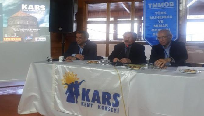 TMMOB Kars Kent Sempozyumu gerçekleştirildi