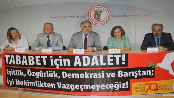 TTB, 70. Büyük Kongresine gidiyor: Adalet talebi olan tüm kesimler davetli
