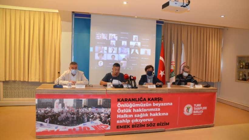 TTB: Ankaraya Yürüyeceğiz