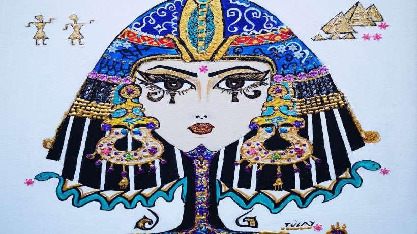 Tülay Sönmez yazı ve resimledi: Yedinci kadın firavun Kleopatra
