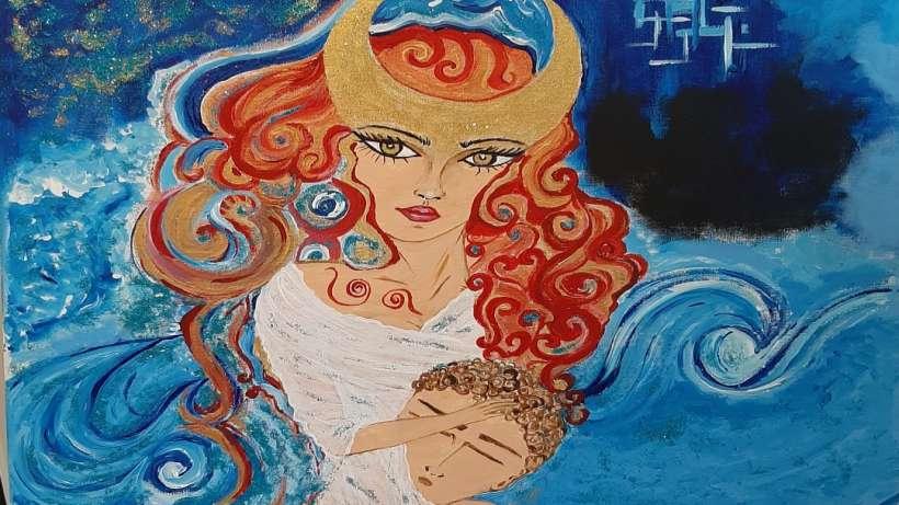 Tülay Sönmez yazıp çizdi: Ben, Ay'ın kızı Selene'yim