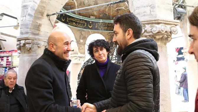 """Tunç Soyer: """"Kemeraltı'nı restore ederek UNESCO Dünya Kültür Mirası olmasını sağlayacağız"""""""