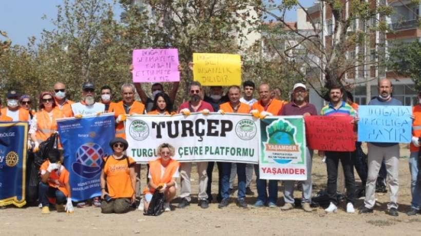 Turgutlu'da kirlilik ağaçları kuruttu I TURÇEP'ten protesto