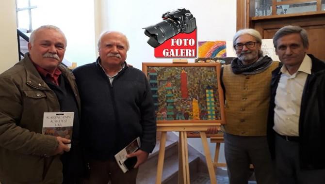 Turgutlu'da Soğukpınar'ın tabloları, Aracı'nın romanı için buluşma