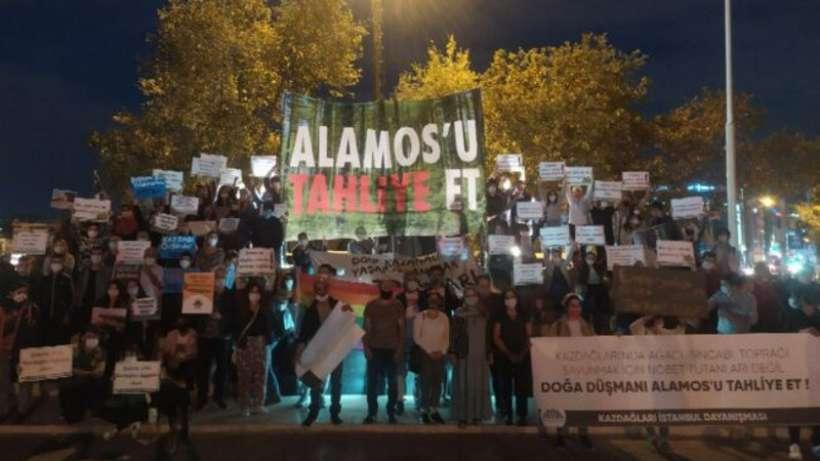 'Yaşam savunucularını değil, işgalci Alamos Gold'u tahliye et'