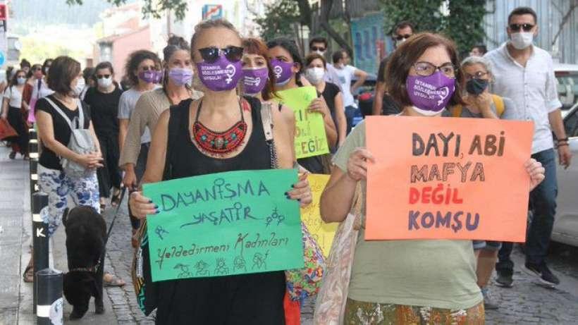 Yeldeğirmeninde yaşayan kadınlar: Şiddete izin vermeyeceğiz