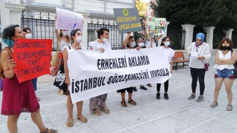 'İstanbul Sözleşmesi'nden vazgeçmeyeceğiz, uygulatana kadar mücadele edeceğiz'