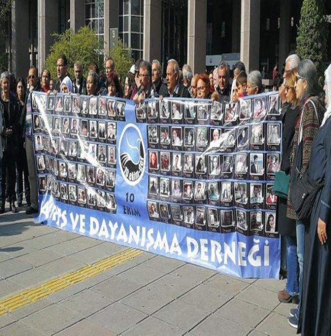 10 Ekim Ankara Katliamı 16 firari sanığının 2. duruşması bugün görülüyor
