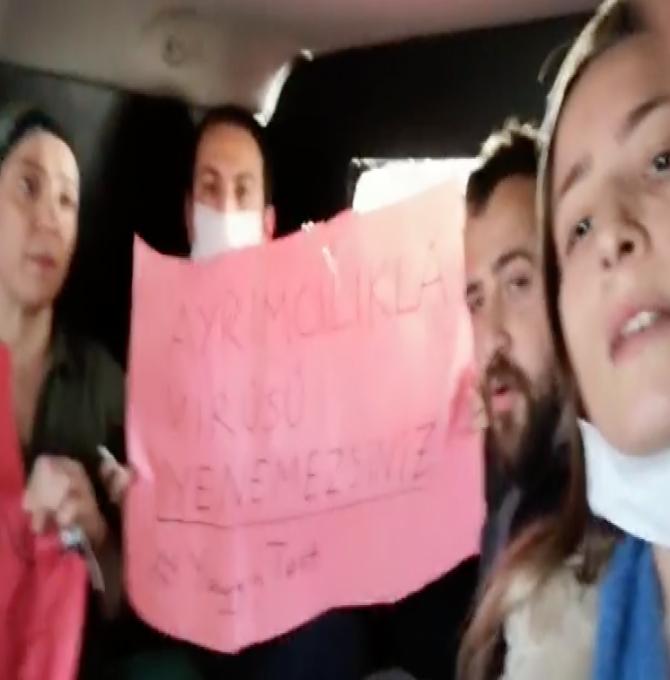 5 sağlık emekçisi gözaltına alındı