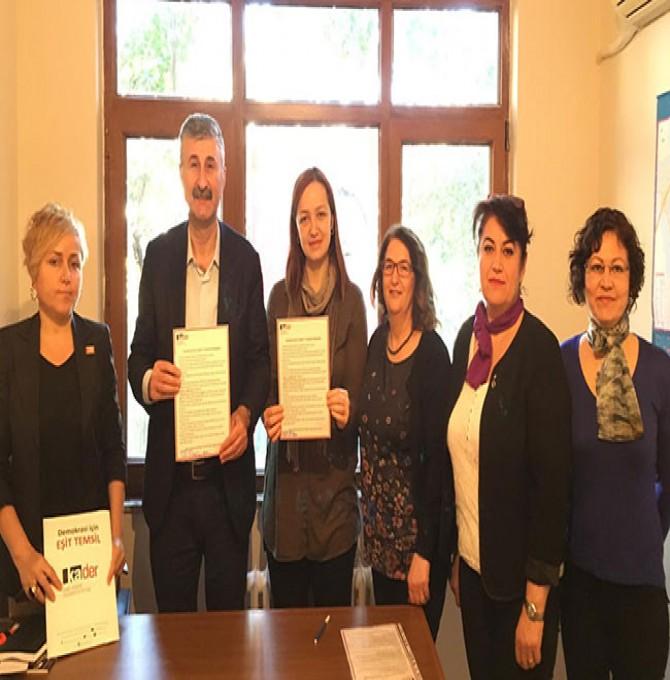 Alper Taş, Kadın Dostu Kentler Taahhütnamesi'ni imzaladı