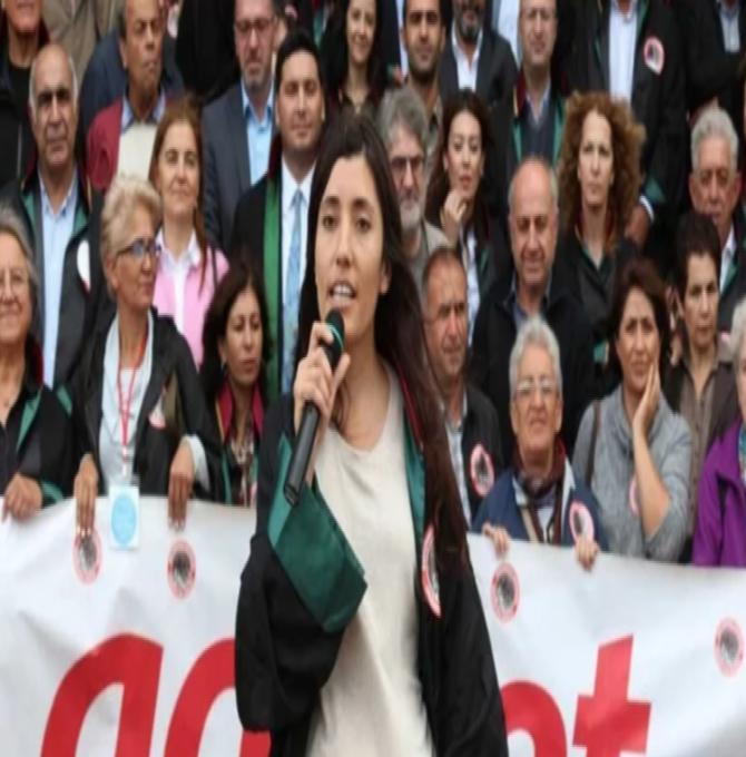Avukat Yaprak Türkmen açlık grevine başladı