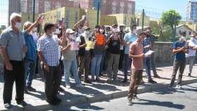 Hastane önünde çağrı: Ebru Timtik ve Aytaç Ünsal serbest bırakılsın!