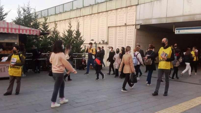 Kadıköy Söğütlüçeşme ve Uzunçayır'da mitinge davet