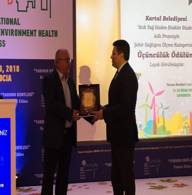 Kartal Belediyesi Çevre Koruma Ve Kontrol Müdürlüğü ödüle doymuyor