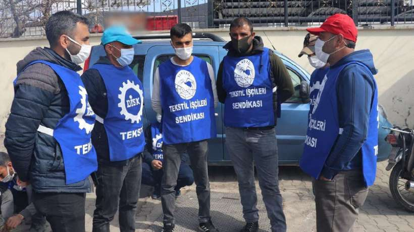 Kod 29'dan işten atılan Yasin Kaplan Halı işçilerinin direnişi sürüyor