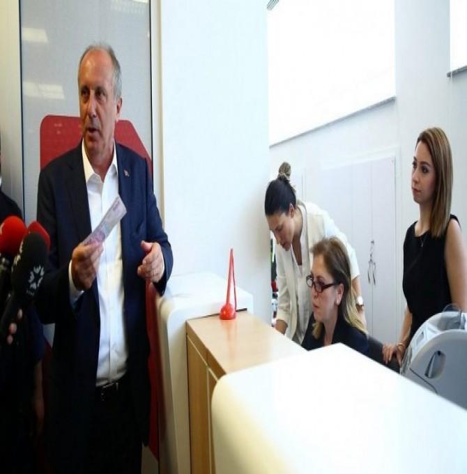 Muharrem İnce'den rakiplerinin banka hesabına 500'er lira seçim bağışı!